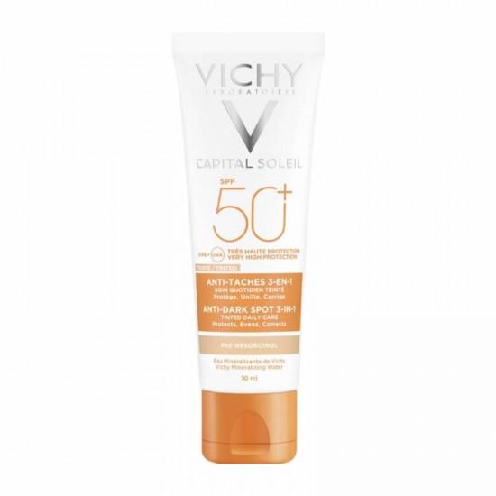 Vichy Capital Soleil Anti-Dark Spot 3-in-1 Tinted Cream SPF50+ 50ml