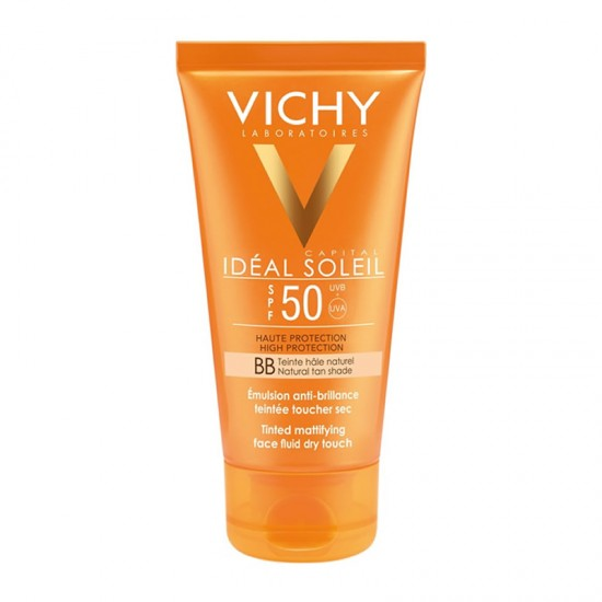Vichy Ideal Soleil Dry Touch Emulsion-Fluid Tinted BB SPF50+ 50ml