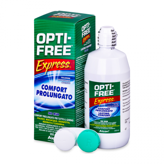 Alcon Opti-Free Express Contact Lens Cleanser 355ml