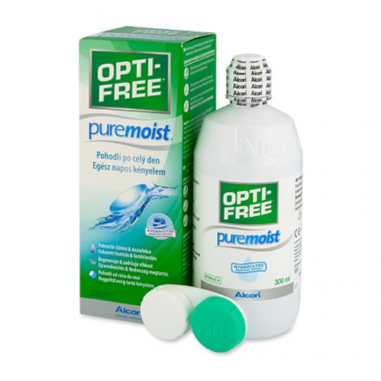 Alcon Opti-Free Pure Moist Contact Lens Cleanser 300ml