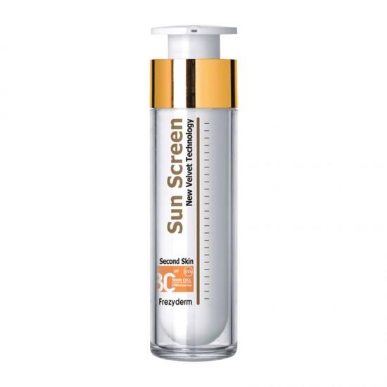 Frezyderm SunScreen Velvet Second Skin Face Cream SPF30+ 50ml