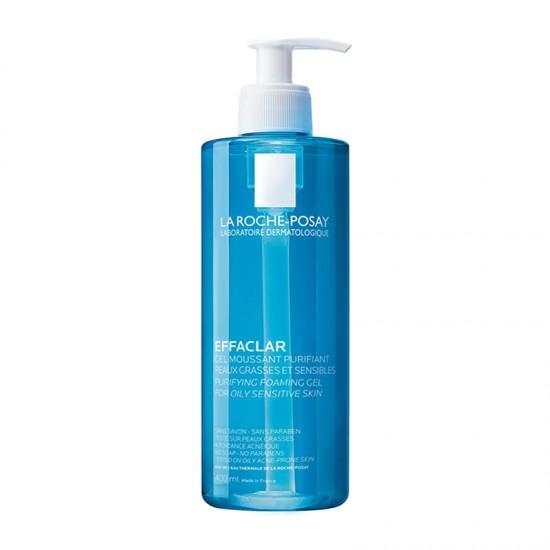 La Roche-Posay Effaclar Purifying Foaming Gel for Oily-Sensitive Skin 400ml